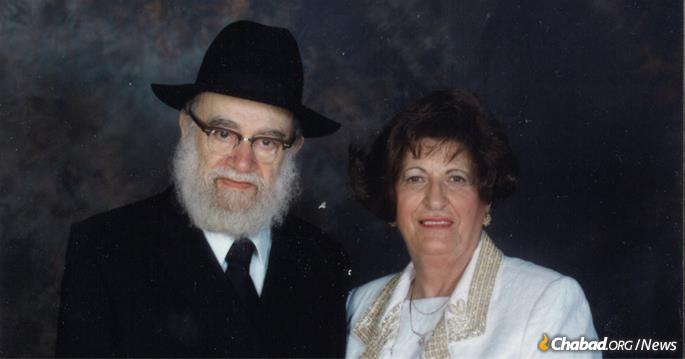 Rabbi Avraham Tzvi Landa and Chaya Landa