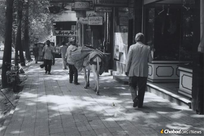 The streets of Tehran, August 1978 (Photo: Courtesy NCFJE)