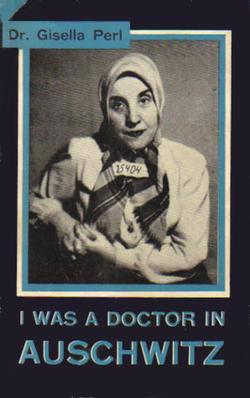 "The front cover art of the book written by Gisella Perl entitled, ""I Was a Doctor in Auschwitz"". (Photo: Wikimedia)"