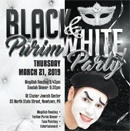 Main Event | Black & White Purim Party