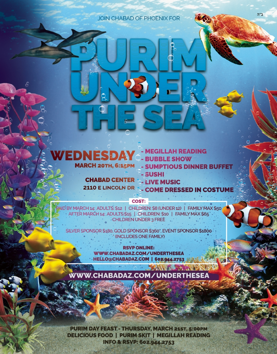 Purim Under the Sea @ Chabad Center