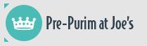 Purim at Joe's