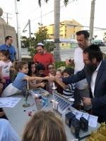 Chanukah Lighting at Bayview Park December 2, 2018
