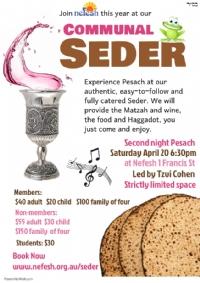 2nd Night Communal Seder