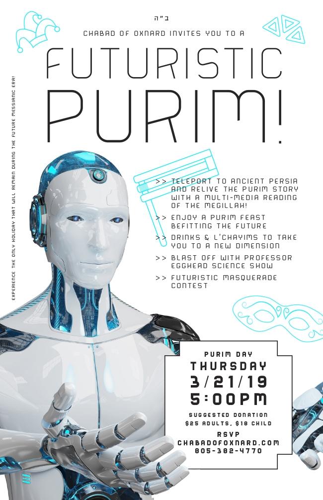 FUTURISTIC PURIM 2019