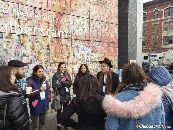 Groups visited the Jewish Children's Museum. (Photo: Tzemach Feller)