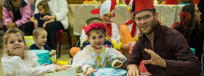 Purim Joy Coming to New Chabad Centers Around the Globe
