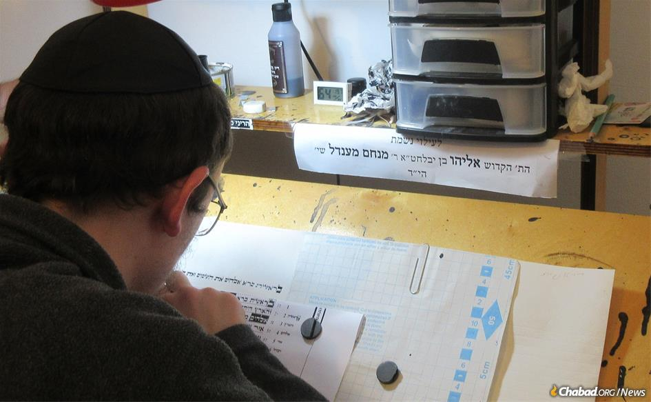 A Torah scroll is being written in honorof Eliyahu Moscowitz, a beloved 24-year-old who was murdered last year in Chicago. The Torah will be used at Chabad Cambodia, Phnom Penh's first and only Jewish congregation.