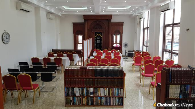 The Torah will be used at Chabad Cambodia, Phnom Penh's first and only Jewish congregation.