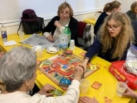 March: Brunch & Board Games with Seniors