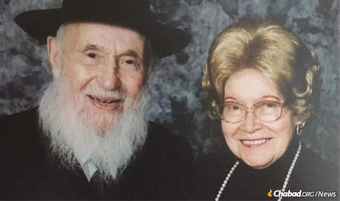 O Rabino Kazen e sua esposa Shula