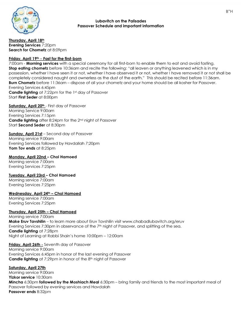 Pesach Schedule 2019 .jpg