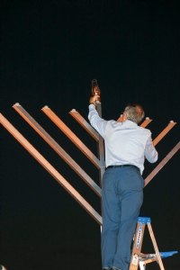 Chanukah in Lakeland 2018