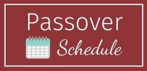 Passover Class