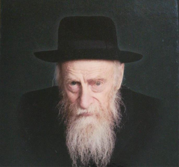 Reb Yaakov Friedman in his later years.