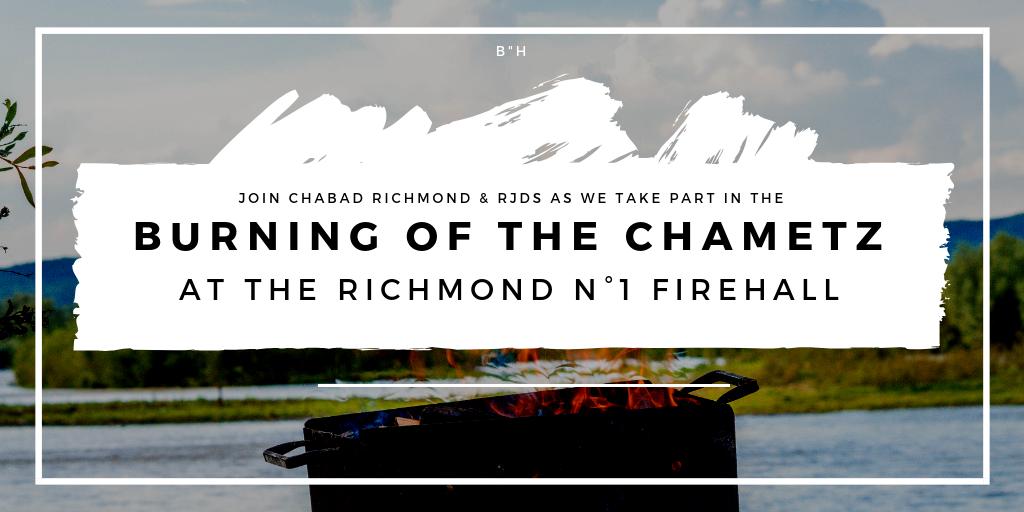 Richmond Fire Hall Burning Chametz.png