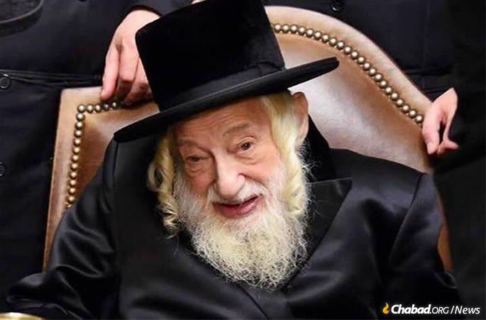 Rabbi Yisroel Avrohom Portugal, the Skulener Rebbe