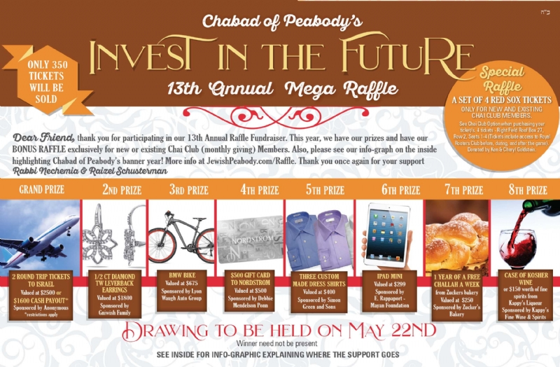 Support the good work of Judaism in Peabody