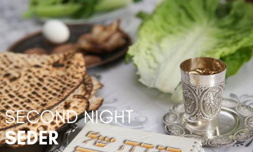 Pesach Seder (2nd Night)