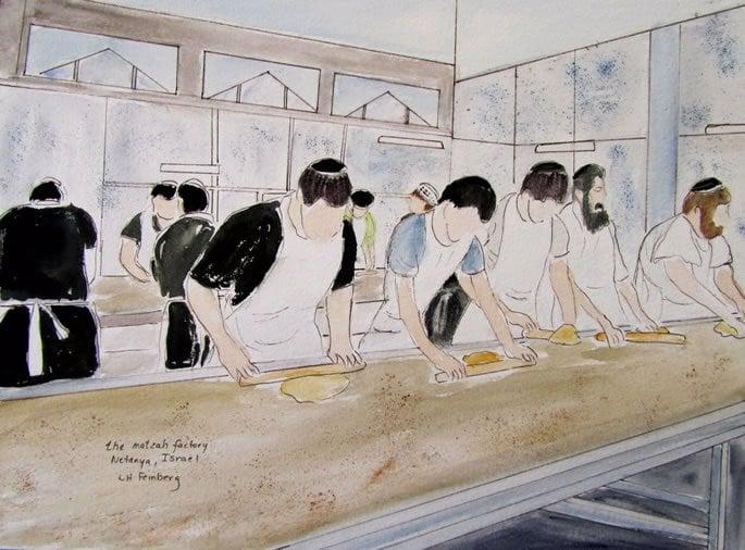 Matzah Bakery by Linda Feinberg