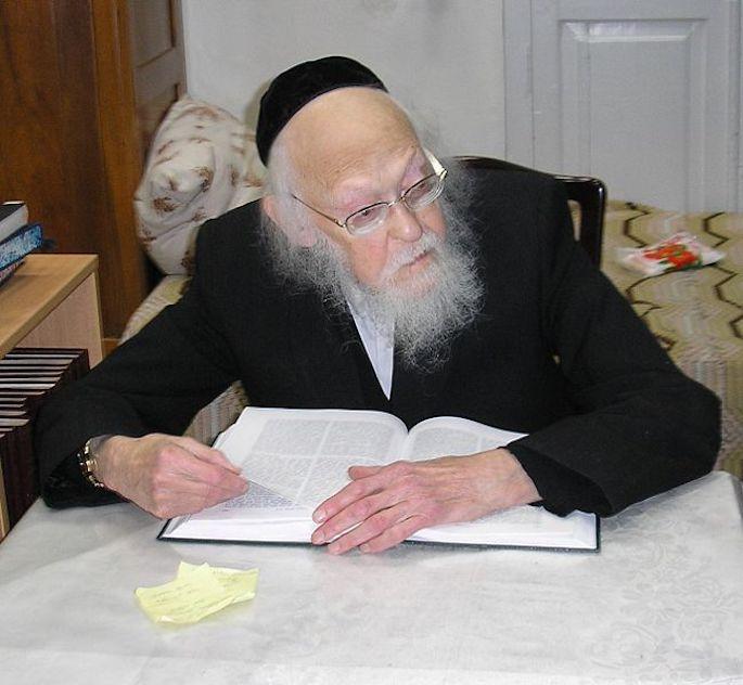 Rabbi Yosef Shalom Elyashiv (Wikimedia)