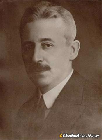 Dr. Bernard Kahn, director general of the JDC in Europe circa 1930. (Photo: Archives of the American Jewish Joint Distribution Committee)