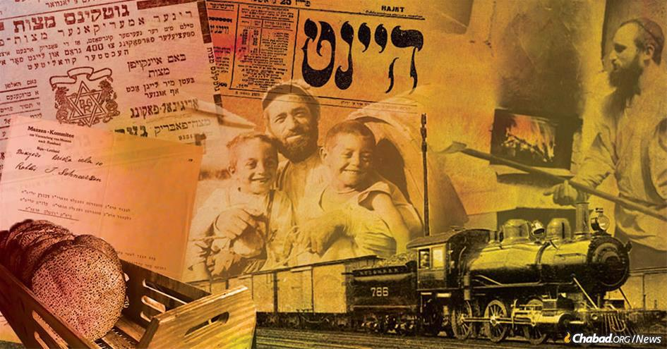 Photos: Joseph Rosen/JDC Archives, Jewish Educational Media/Early Years, Wikimedia Commons. (Photo collage: Rivka Korf Illustrations)