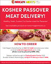 Kosher for Passover Meat Delivery!