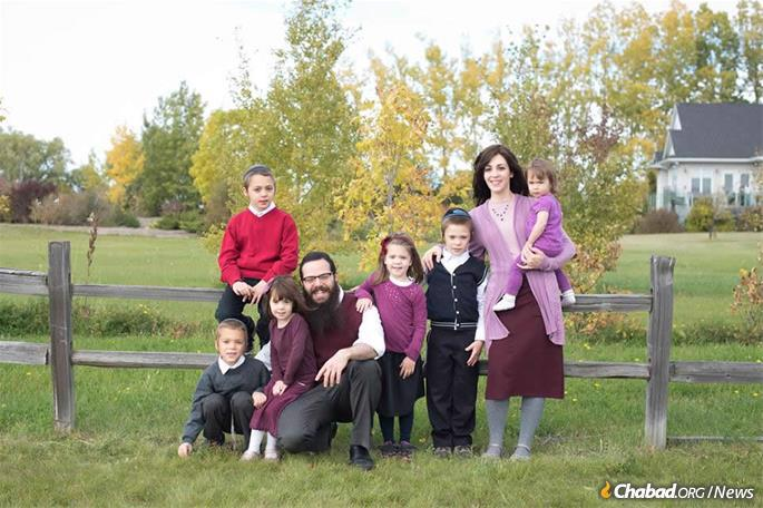 Rabbi Raphael and Sarah Kats in Saskatoon, Saskatchewan, Canada, have to plan ahead and arrange for special food deliveries for Passover and throughout the year.