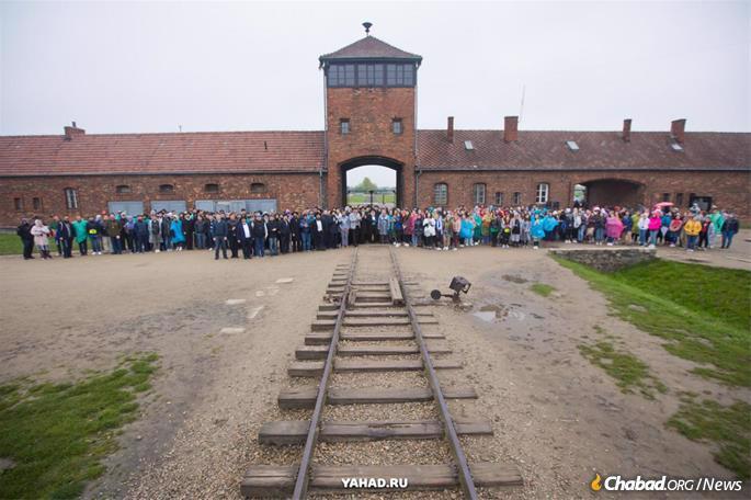 Nos portões de Auschwitz