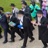Poway Rabbi at Auschwitz: Serves at Brit Milah, Addresses 'Eurostars'