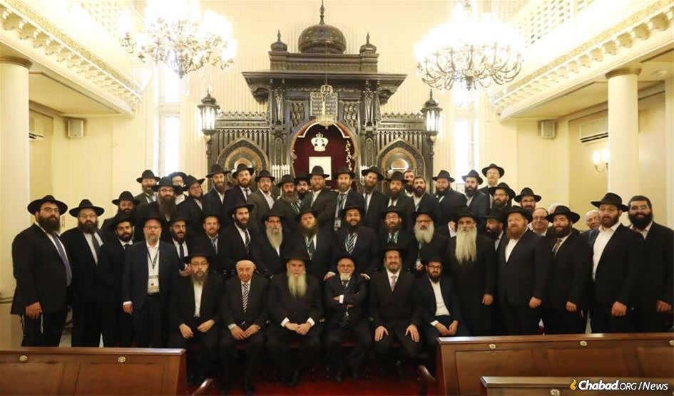 Rabbis from smaller communities in Europe and Africa gathered in Istanbul, Turkey, at the European and Central African Regional Conference of Chabad-Lubavitch Emissaries (Kinus Hashluchim).