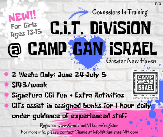 C.I.T.Division @ Camp Gan Israel.png