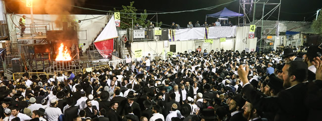 May 2019: Meron Chabad Gets Ready for 600,000 Visitors Fired Up for Lag BaOmer