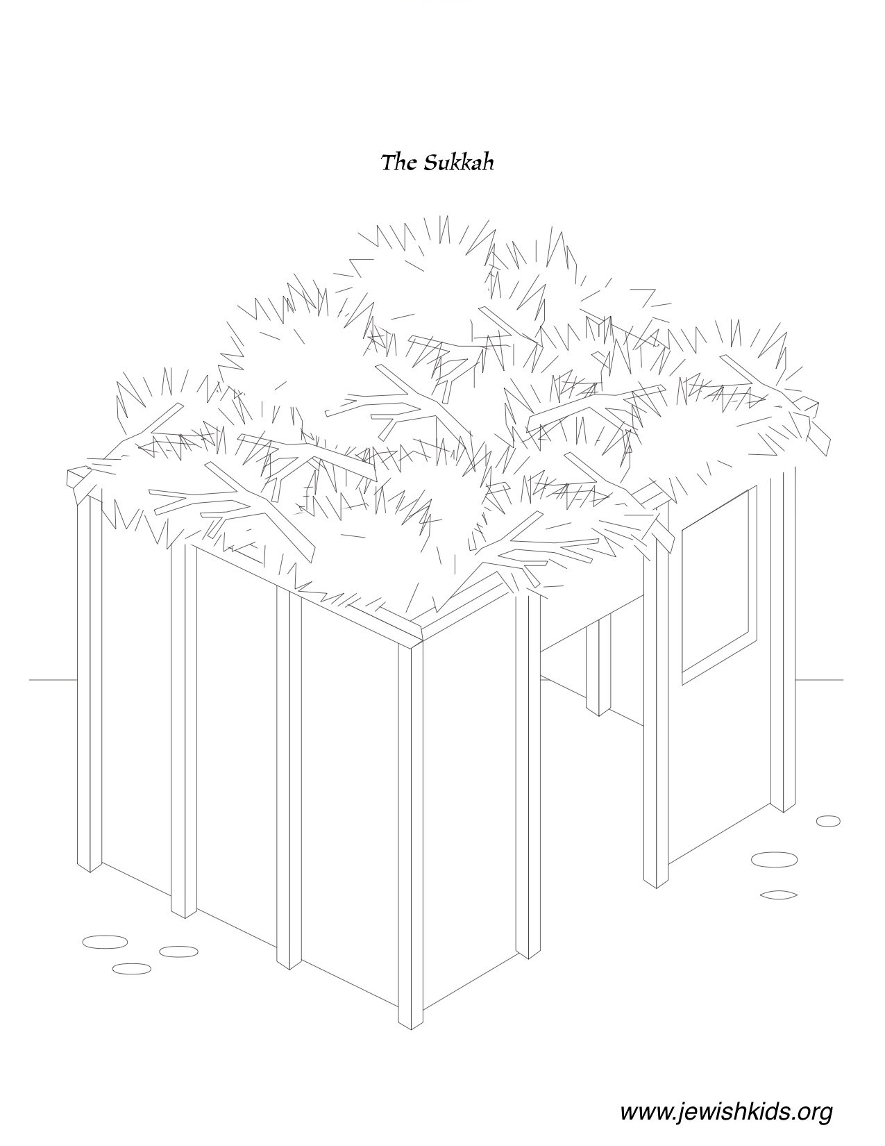 Sukkot Coloring Pages Coloring Pages Jewish Kids