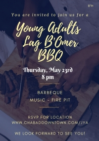 Young Adults Lag B'Omer BBQ