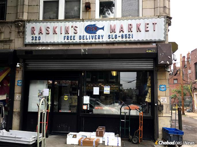 Although it has grown, not much has changed about Raskin's fish market.