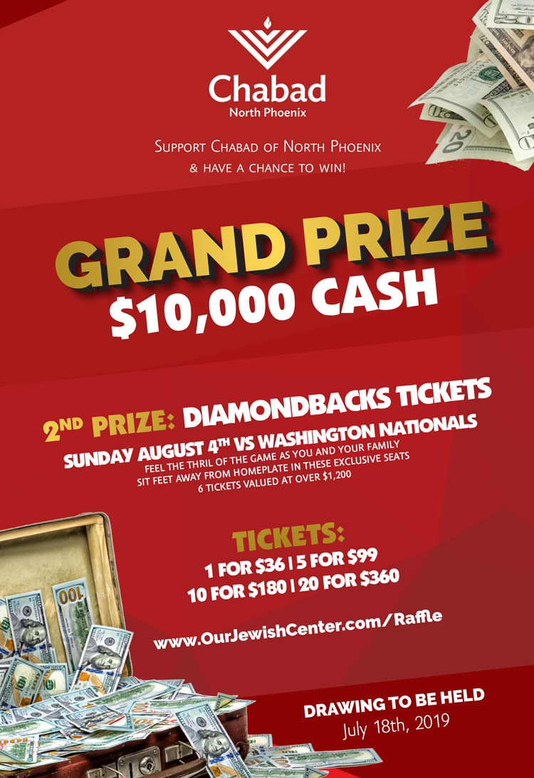 Raffle 2019 - Chabad of North Phoenix