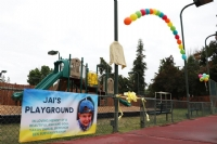 Jai's Playground Dedication