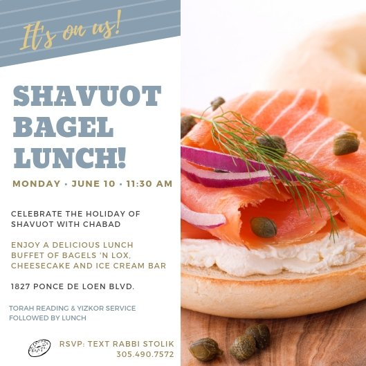 Bagel Lunch 2019