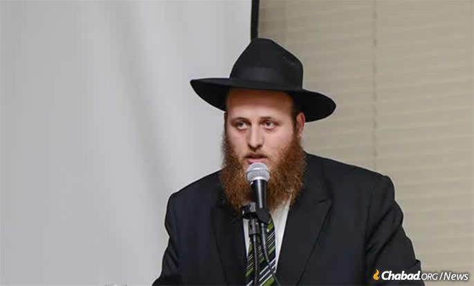 Rabbi Rafi Andrusier leads the Chevra Kadisha, the Jewish Burial Society, in San Diego.