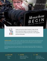 Menachem Begin: Salt of the Earth