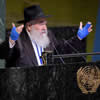 At U.N., Poway Rabbi Goldstein, Armed With Charity Box, Urges a Billion Good Deeds