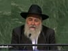 Rabbi Yisroel Goldstein Addressing the United Nations