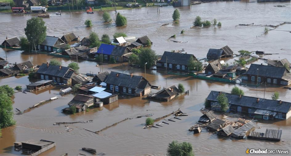 Severe flooding has devastated the Irkutsk district of Siberia, Russia, near the border with Mongolia.
