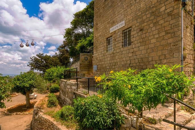 Hoping to convince the Jews to abandon idol worship, Elijah the Prophet challenged the prophets of Baal to a contest on Mt. Carmel (1 Kings 18) and hid from the evil Ahab and Jezebel in this cave complex in present-day Haifa.