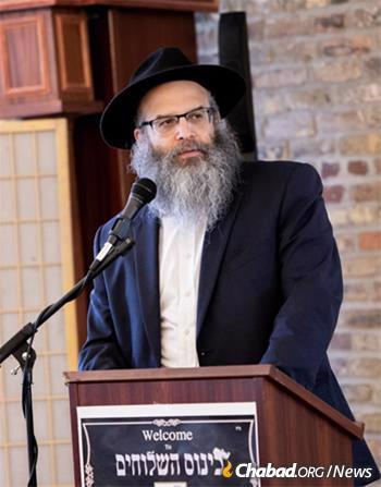 Rabbi Baruch Epstein (Photo: Shaina Benhiyoun)