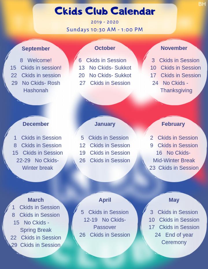 Passover 2020 Calendar.Calendar Chabad Of Shoreline