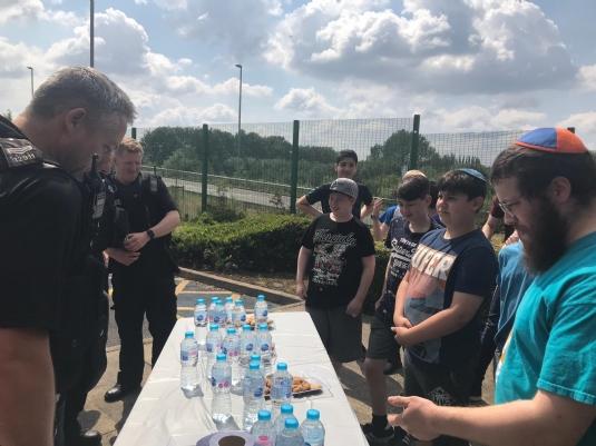 cteen volunteers with Bury Police1.jpg