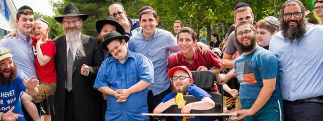 July 2019: Russia Chief Rabbi Visits Upstate New York Camp for Kids With Special Needs